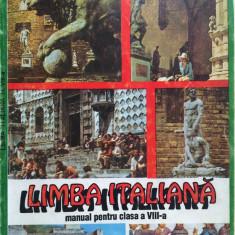 LIMBA ITALIANA MANUAL PENTRU CLASA A VIII-A - Ileana Tanase-Bogdanet - Curs Limba Italiana