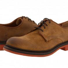 Pantofi Frye Wallace Oxford | 100% originali, import SUA, 10 zile lucratoare - Pantofi barbat Frye, Piele intoarsa
