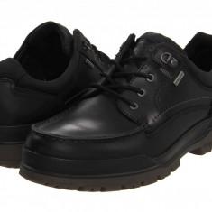 Pantofi ECCO Track 6 GTX Moc Toe Tie | 100% originali, import SUA, 10 zile lucratoare - Pantofi barbat Ecco, Piele intoarsa