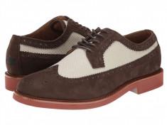 Pantofi Polo Ralph Lauren Torrington Wingtip | 100% originali, import SUA, 10 zile lucratoare, Piele intoarsa, Ralph Lauren