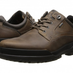 Pantofi ECCO Track 6 GTX Plain Toe Tie | 100% originali, import SUA, 10 zile lucratoare - Pantofi barbat Ecco, Piele naturala, Casual