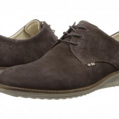 Pantofi ECCO Contoured Plain Toe Tie | 100% originali, import SUA, 10 zile lucratoare - Pantofi barbat Ecco, Piele naturala