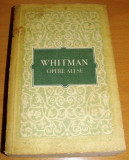 WHITMAN - Opere Alese, 1956