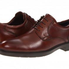 Pantofi ECCO Atlanta Plain Toe | 100% originali, import SUA, 10 zile lucratoare - Pantofi barbat Ecco, Piele intoarsa, Casual