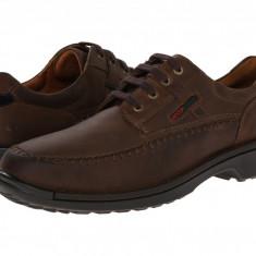 Pantofi ECCO Fusion Moc Tie | 100% originali, import SUA, 10 zile lucratoare, Piele intoarsa