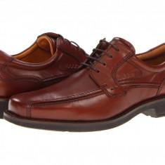 Pantofi ECCO Seattle Bicycle Toe Tie | 100% originali, import SUA, 10 zile lucratoare - Pantofi barbat Ecco, Piele intoarsa