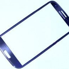 Touchscreen Samsung Galaxy s3 mini i8190 albastru original GEAM STICLA ecran - Touchscreen telefon mobil