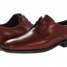 Pantofi ECCO Edinburgh Bike Toe Tie | 100% originali, import SUA, 10 zile lucratoare - Pantofi barbat Ecco, Piele naturala