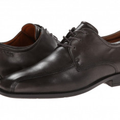 Pantofi ECCO Edinburgh Bike Toe Tie | 100% originali, import SUA, 10 zile lucratoare - Pantofi barbat Ecco, Piele intoarsa
