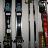 Ski-uri ROSSIGNOL FIRST (185 cm) + set 2 beţe (140 cm)
