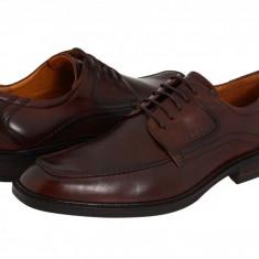 Pantofi ECCO Windsor Apron Tie | 100% originali, import SUA, 10 zile lucratoare - Pantofi barbat Ecco, Piele intoarsa