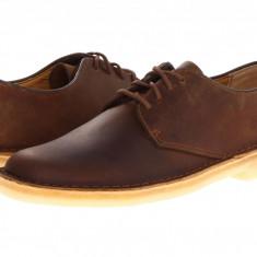 Pantofi Clarks Desert London | 100% originali, import SUA, 10 zile lucratoare - Pantof barbat Clarks, Piele intoarsa