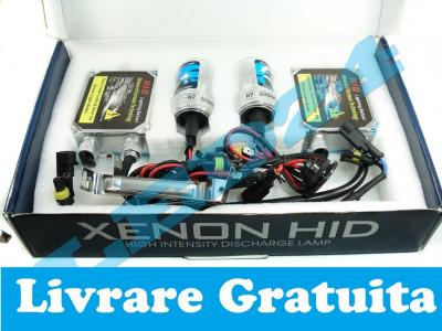 Kit Xenon 35W H1 H3 H7 H8 9 11  HB3 HB4 FAT Digital Tehnologie Germana foto