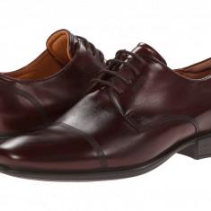 Pantofi ECCO Cairo Modern Cap Toe Tie   100% originali, import SUA, 10 zile lucratoare - Pantofi barbat Ecco, Piele intoarsa