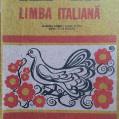 LIMBA ITALIANA MANUAL PENTRU CLASA A VI-A - Ileana Tanase-Bogdanet, V Negritescu - Manual scolar didactica si pedagogica, Clasa 6, Didactica si Pedagogica, Limbi straine