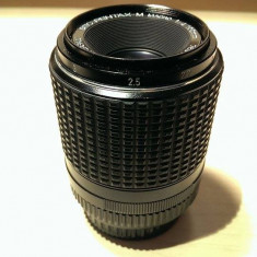 SMC PENTAX-M macro (1:2) 100 mm, f/4 diafragma automata Montura pentax k - Obiectiv DSLR Pentax, Macro (1:1), Manual focus