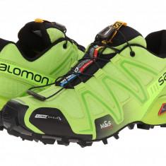 Pantofi Salomon Speedcross 3 CS   100% originali, import SUA, 10 zile lucratoare - Incaltaminte outdoor Salomon, Semighete, Barbati