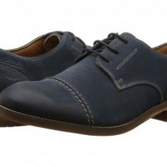 Pantofi Clarks Exton Cap | 100% originali, import SUA, 10 zile lucratoare - Pantofi barbat Clarks, Piele intoarsa