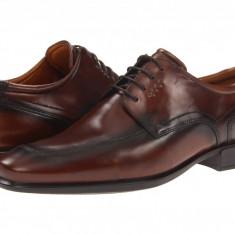 Pantofi ECCO Cairo Apron Toe Tie | 100% originali, import SUA, 10 zile lucratoare - Pantofi barbat Ecco, Piele naturala, Casual