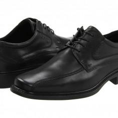 Pantofi ECCO New Jersey Tie   100% originali, import SUA, 10 zile lucratoare - Pantofi barbat Ecco, Piele intoarsa