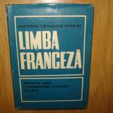 LIMBA FRANCEZA MANUAL DE LIMBA SI CORESPONDENTA COMERCIALA ANUL 1971 - Curs Limba Franceza