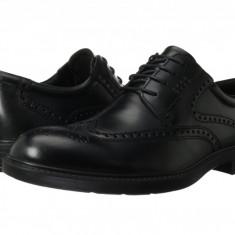Pantofi ECCO Atlanta Wing Tip | 100% originali, import SUA, 10 zile lucratoare - Pantofi barbat Ecco, Piele intoarsa