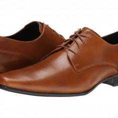 Pantofi Calvin Klein Brodie Burnished Leather | 100% originali, import SUA, 10 zile lucratoare - Pantofi barbat Calvin Klein, Piele intoarsa