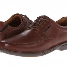 Pantofi Clarks Un.Corner Time | 100% originali, import SUA, 10 zile lucratoare - Pantofi barbat Clarks, Piele naturala