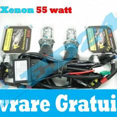 KIT BI-XENON H4 55W 6000k TEHNOLOGIE GERMANA