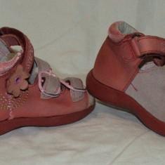 Sandale copii SUPER GEAR - nr 20, Culoare: Din imagine, Fete, Piele naturala