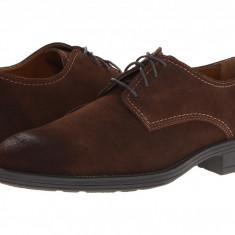 Pantofi Hush Puppies Plane Oxford PL | 100% originali, import SUA, 10 zile lucratoare - Pantofi barbat Hush Puppies, Piele intoarsa