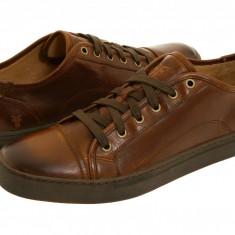 Pantofi Frye Justin Low Lace | 100% originali, import SUA, 10 zile lucratoare - Pantofi barbat Frye, Piele naturala