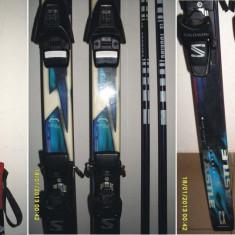 Ski-uri KASTLE CAP CX Carbon (193 cm) + set 2 bete (145 cm) - Set ski