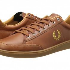 Pantofi Fred Perry Hopman Leather | 100% originali, import SUA, 10 zile lucratoare - Pantofi barbat Fred Perry, Casual