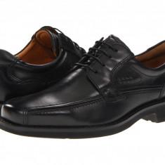 Pantofi ECCO Seattle Bicycle Toe Tie   100% originali, import SUA, 10 zile lucratoare - Pantofi barbat Ecco, Piele intoarsa