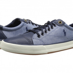 Pantofi Polo Ralph Lauren Klinger | 100% originali, import SUA, 10 zile lucratoare - Pantofi barbat Ralph Lauren, Piele intoarsa