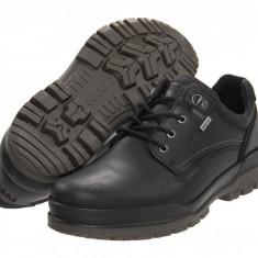 Pantofi ECCO Track 6 GTX Plain Toe Tie | 100% originali, import SUA, 10 zile lucratoare - Pantofi barbat Ecco, Piele intoarsa, Casual