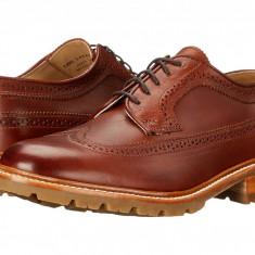 Pantofi Frye James Lug Wingtip | 100% originali, import SUA, 10 zile lucratoare - Pantofi barbat Frye, Piele intoarsa