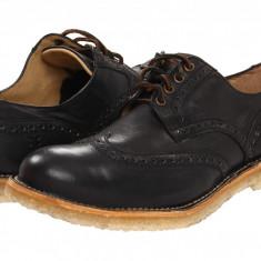 Pantofi Frye Hudson Wingtip | 100% originali, import SUA, 10 zile lucratoare - Pantofi barbat Frye, Piele intoarsa