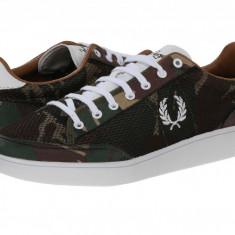 Pantofi Fred Perry Hopman Camo Mesh | 100% originali, import SUA, 10 zile lucratoare - Adidasi barbati