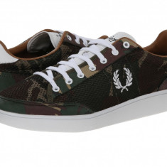Pantofi Fred Perry Hopman Camo Mesh | 100% originali, import SUA, 10 zile lucratoare - Pantofi barbat