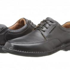 Pantofi Clarks Un.Corner Time | 100% originali, import SUA, 10 zile lucratoare - Pantofi barbat Clarks, Piele intoarsa