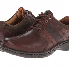 Pantofi Clarks Un.coil | 100% originali, import SUA, 10 zile lucratoare - Pantofi barbat Clarks, Piele naturala