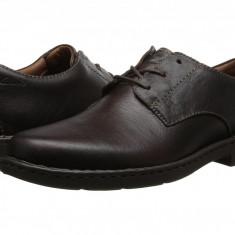 Pantofi Clarks Stratton Way | 100% originali, import SUA, 10 zile lucratoare - Pantof barbat Clarks, Piele intoarsa