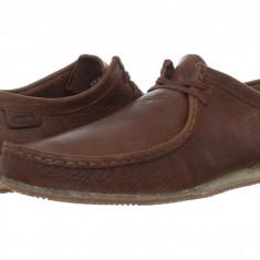 Pantofi Clarks Wallabee Run | 100% originali, import SUA, 10 zile lucratoare - Pantofi barbat Clarks, Piele intoarsa, Casual