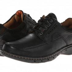 Pantofi Clarks Un.bend | 100% originali, import SUA, 10 zile lucratoare - Pantofi barbat Clarks, Piele naturala, Casual