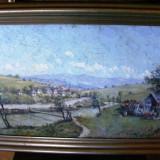 Reducere - Kusovski - Margine de sat 70x50 cm - Pictor roman