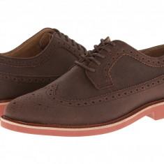 Pantofi Polo Ralph Lauren Torrington Wingtip NT | 100% originali, import SUA, 10 zile lucratoare - Pantofi barbat Ralph Lauren, Piele naturala
