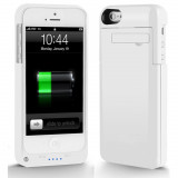 Acumulator extern alb 2200 mAh POWER BANK iPhone 5 / 5s + folie - Baterie externa