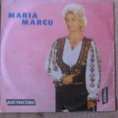 Maria marcu album vinyl muzica populara electrecord lp disc folclor, VINIL